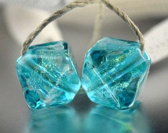 Aqua Dichroic Crystals