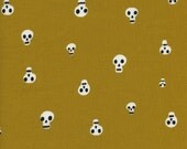 Alexia Marcelle Abegg for Cotton + Steel FABRIC - Boo! - Charms - Mustard