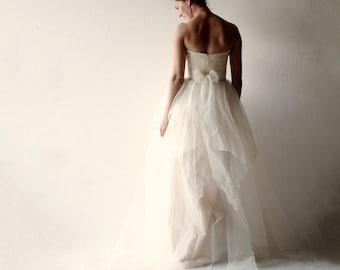 Wedding dress, Bridal gown, Romantic wedding dress, Bohemian wedding dress, fairy wedding dress, princess wedding dress, boho wedding dress