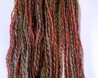 SALE  Weathered Barn, handspun wool yarn, 24 g/70 yds