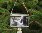 First Christmas Ornament, Wedding Photo Ornament, Newlywed Photo Ornament, Personalized Photo Ornament, Pet Ornament