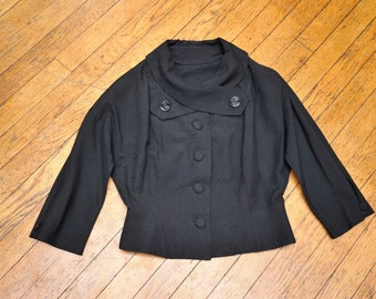 Jacket w/ Dolman Sleeves and Lovely Collar