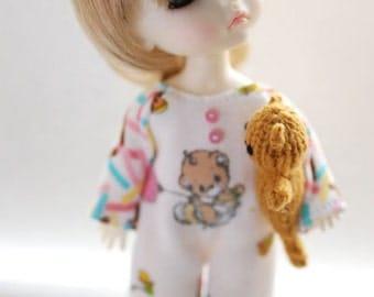 Latidoll yellow romper - sweet teddy