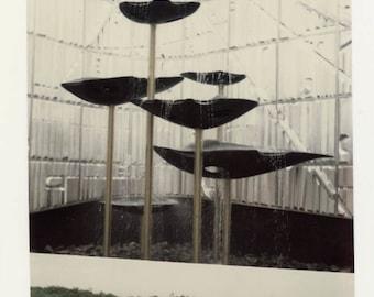vintage photo 1968 Abstract Color Polaroid Monsanto Mod Modern Fountains