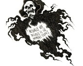 Inktober: Wraith Studies