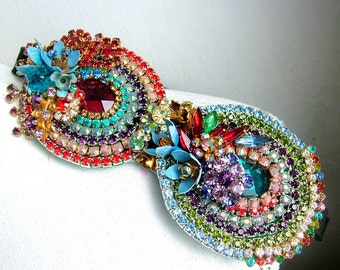 Shimmer and Shine - OOAK hairband - Ready to ship x