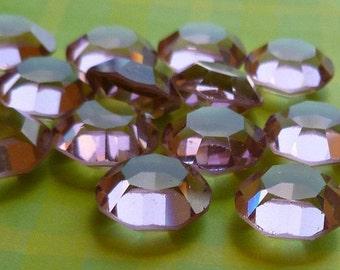Vintage Glass Jewels - 47ss (10.6mm) Swarovski Light Amethyst Jewels (54-3B-6)