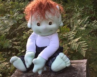 Faerie Baby doll, organic cotton