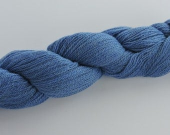 Home Grown Kid Mohair and Merino 2 Ply Blue 16-1-19 to 16-1-21