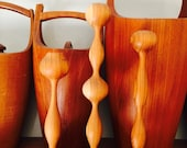 Teak Wood Candle Holder Set of 3