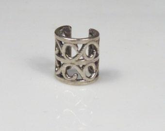 Simple Ear Cuffs No Piercing, Cartilage Ear Cuff Sterling Silver, Helix Cuff