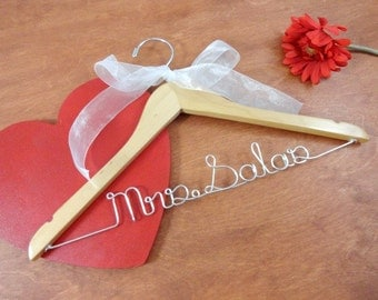 Custom Bridal Hangers Personalized Hangers Wedding Dress Hangers Bridal Accessories Wedding Coat Hangers Etsy Bride Hangers