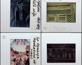 50 Art Slides - Assorted Educational 35mm Slides - Plastic Frames - Vintage Photo Slides - Art History