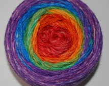 Over the Rainbow Panoramic Gradient, 150g Greatest of Ease, dyed to order