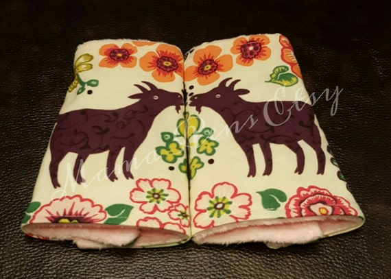 Thistle Goat  flared suck pads for Lillibaby Tula Ergo Beco SSC