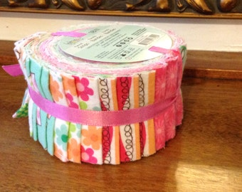 Flannel Jelly Roll 8 Pieces