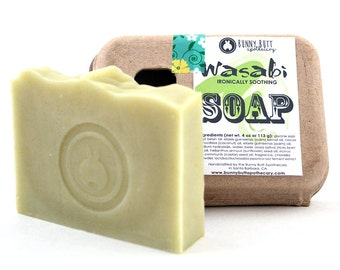 Wasabi Soap with real Wasabi Extract