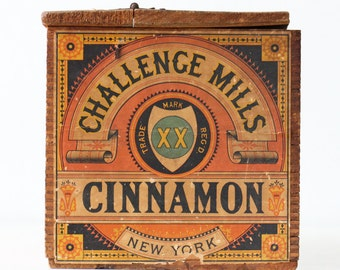 Vintage Cinnamon Crate, Challenge Mills Cinnamon