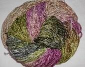 Handpainted Soft Rayon Chenille Yarn  DOGWOOD -  325 yds
