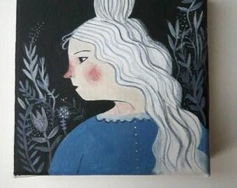 Lumi - Original painting on canvas