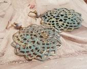 Reserve listing for Melanie/Gypsy Filigree Earrings