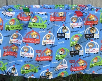 Vroom, Honk, Beep shopping cart cover for little boy shoppers.
