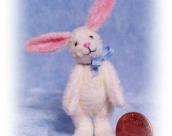 Jackie Rabbit Miniature Rabbit Kit - Pattern - by Emily Farmer