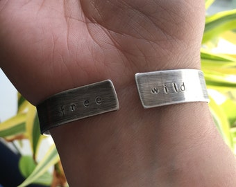 Wild & Free thunderbird cuff bracelet