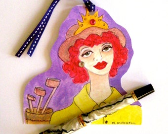 GOLF GIFT TAG, greeting card, lavender, rhinestones, gift tag, fun quote, hanging tag, gift for her, pistachio, golf girls, golf prizes