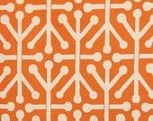 """MASSIVE FABRIC CLEARANCE Premier Prints Aruba Mandarin/Dossett - 56""""W x 2 yd 26"""" L"""