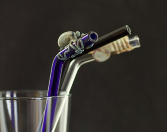Get Bent, Add-on Bend Glass Straw Upgrade, YOU CHOOSE the COLOR, Made to Order