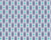 Polka Dot fabric, Gray fabric, Cotton Fabric by the Yard, True Colors fabric, Dots in Gray by Joel Dewberry, Choose your cut