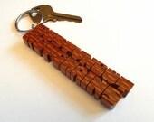Leopardwood 2-Liner Keych...