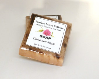 Cinnamon and Sugar Soap, Holiday Soap, Christmas, Winter, Gifts