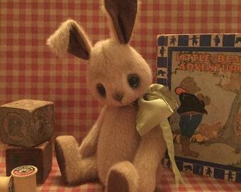 "HARPER....8 1/2"" OOAK Bunny by artist Judy Mathis"