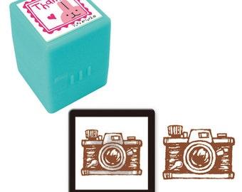 Vintage Camera Stamp • Mind Wave Stamp (92081)