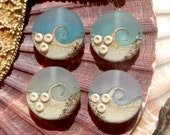 Lampwork Small Focals Sprees (4) Mix