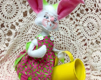 Annilee collection Bunny with watering can