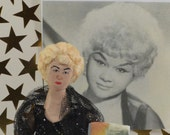 Etta James Singer Blues Jazz Art Doll Miniature Collectible Figure