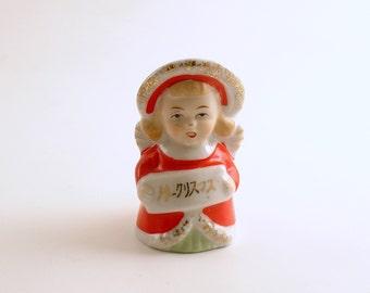 Vintage Christmas Decoration Angel Bell Christmas Ornament
