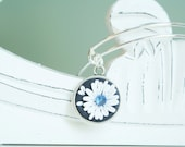 Best Bridesmaid Gifts - September Birthstone Adjustable Bangle Bracelet -  Alex & Ani Inspired Style #9