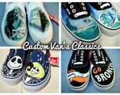 Custom Hand Painted Van's Core Classics