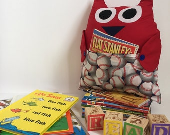Owl Be Your Book Buddy (Baseball)