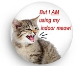 Funny Magnet, Funny Cat Fridge Magnet, Gift for Cat Owner, Gift for Coworker