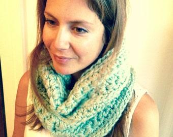 All in one cowl-skirt-winter crochet item [Custom]