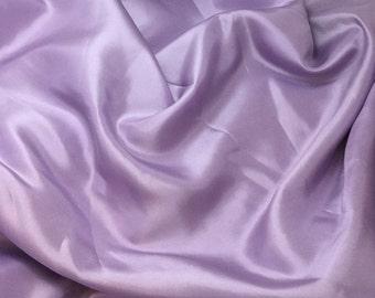 LAVENDER China Silk HABOTAI Fabric - 1 Yard
