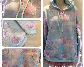 Twinkle Doe Sweater, Fawn Sweater, Kawaii Sweater, Pastel Sweater