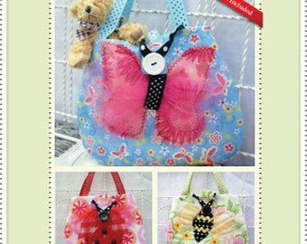 """PDF Pattern for petite """"BUG BAGS"""" for Toddlers and Little girls"""