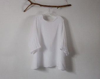 CUSTOM light weight linen tunic top