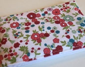 Coin purse in ditsy floral fabric